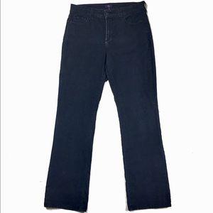 NYDJ Dark Wash Embellished Pockets Bootcut Jean